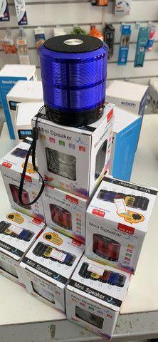 Caixa de Som Mini Speaker POTENTE - Foto 2
