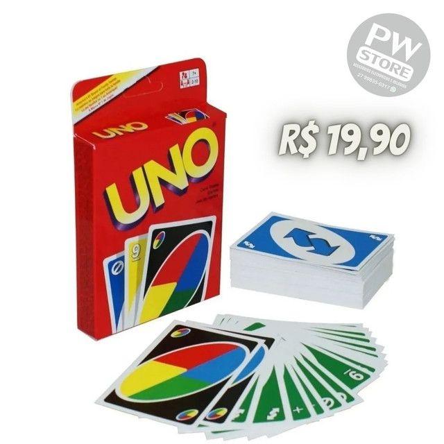 Jogo  Uno - Loja PW STORE