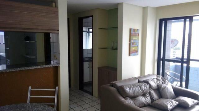 Aptº mobiliado Boa Viagem Recife/PE. 1Qt, sala dois amb, pisc, 2 elev, prox ao shopi, facu