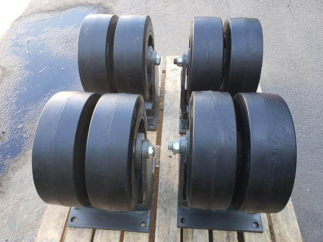 Rodizio duplo para 2.400 kg - Foto 4