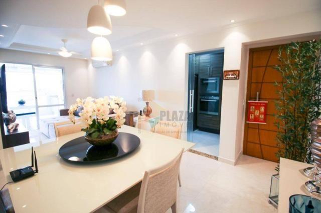 Apartamento com 2 dormitórios à venda, 104 m² por R$ 650.000,00 - Boqueirão - Praia Grande - Foto 7