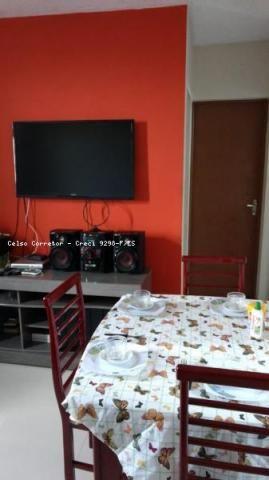 Apartamento para venda em serra, conjunto jacaraípe, 2 dormitórios, 1 banheiro, 1 vaga - Foto 2