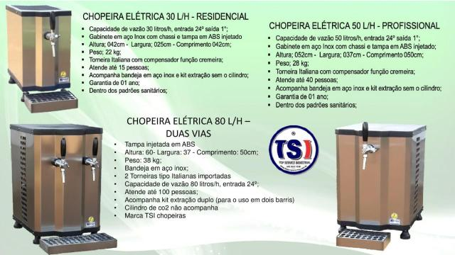 Chopeira Elétrica 50 L/H Profissional - Foto 5
