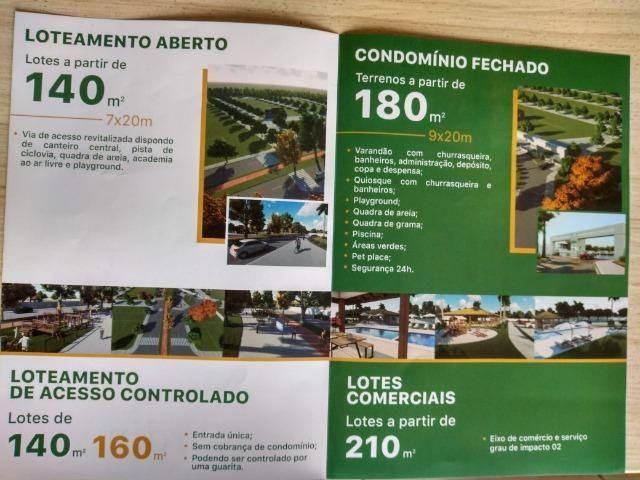 C = Cidade Jardim 2 - Lotes com 140 M², 160 M² e 180 M² = em até 60 parcelas com Entrada ! - Foto 2