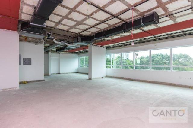 Laje/sala comercial para venda e locação no EuroBusiness, Ecoville, Curitiba - LEED Platin - Foto 8