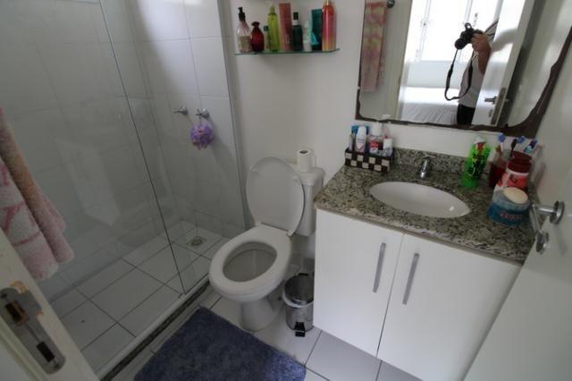 Capão Raso 3 dormitórios churrasqueira a carvão em condomínio Club - Foto 9
