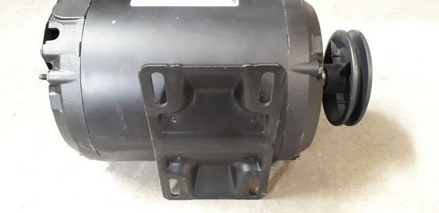 Motor Monofásico Weg 2cv 2 Polos 127/220v Alta Rotação com polia