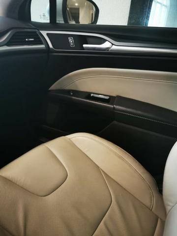 Ford/ Fusion Top de LInha - Ano 2015/2015 - Unico dono - Branco com interior caramelo - Foto 12
