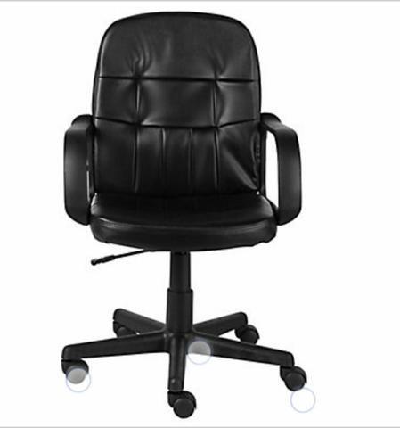 Cadeira giratória para escritório! TOP! Lacrada - Foto 3