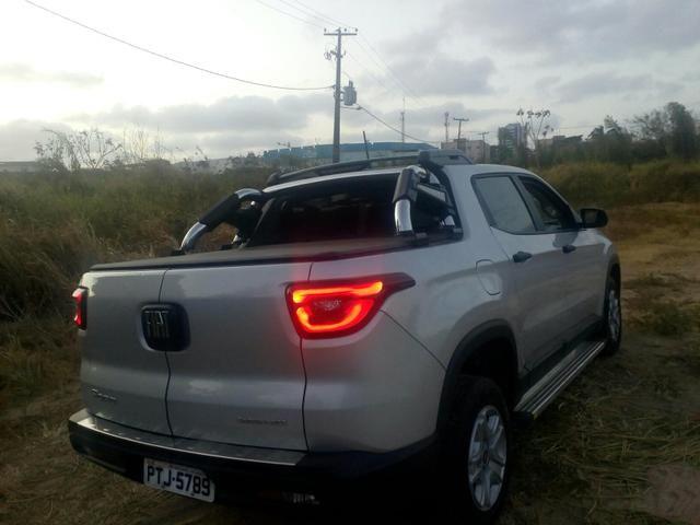 Vendo Fiat Toro flex 18/19 com 5 mil quilômetros rodados fone * - Foto 5