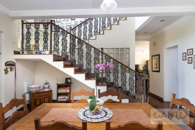 Casa com 5 dormitórios à venda, 439 m² por r$ 2.100.000,00 - santo inácio - curitiba/pr - Foto 20