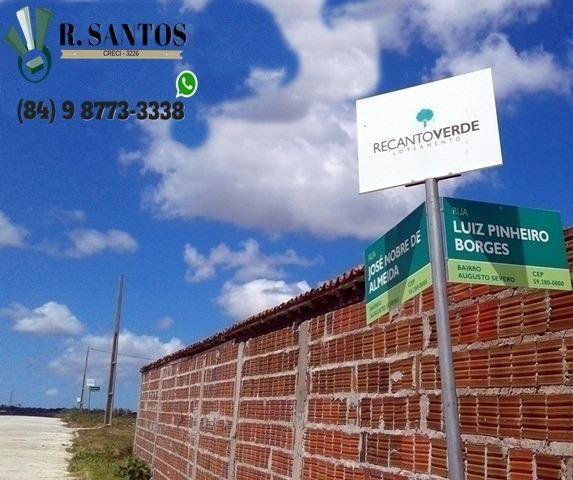 Recanto Verde, BR-304, Parc. A partir 250 reais, Entrada de Macaíba! - Foto 14