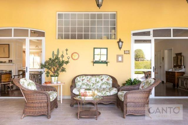Casa com 5 dormitórios à venda, 439 m² por r$ 2.100.000,00 - santo inácio - curitiba/pr - Foto 4