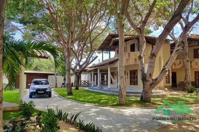 Casa alto padrão próximo ao centro de Paracuru disponível pra réveillon
