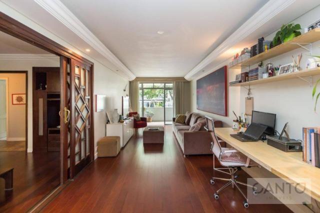 Apartamento garden com 3 dormitórios à venda no cristo rei, 157 m² por r$ 600 mil