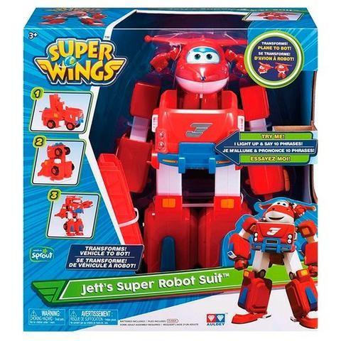 Jett Super Robô Suit Super Wings