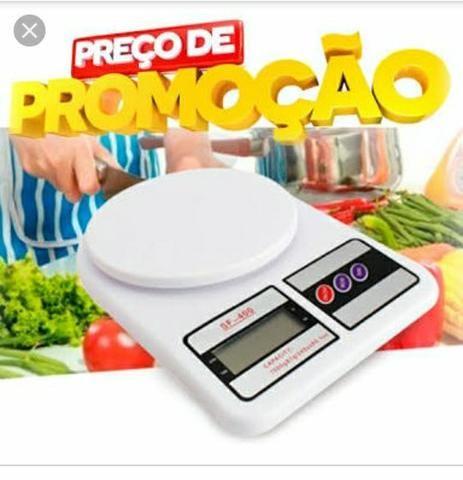 ( )Balança Digital de Alta Precisão Eletrônica 1 Grama a 10 kg