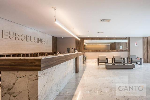 Laje/sala comercial para venda e locação no EuroBusiness, Ecoville, Curitiba - LEED Platin - Foto 6