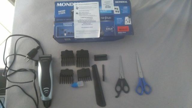 Chapinha titanium 450graus/Secador/ Máquina de cortar cabelo