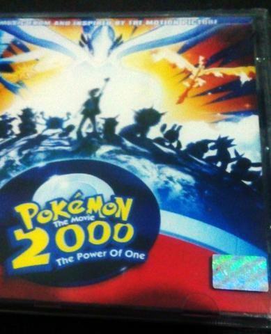Cd Pokemon The Movie 2000 The Power Of One Lacrado - Foto 2