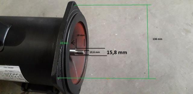 Motor Monofasico 1 Hp Alta Rotação 220/440v - Foto 6