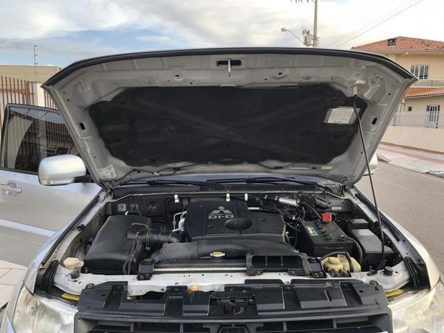 Pajero Full HPE 3.2 Diesel 7 lugares - Excelente Estado de Conservação - Ac Trocas - Foto 18