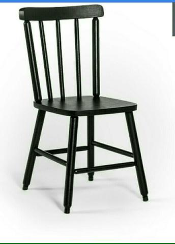 Cadeira Country em madeira (kit 10 peças)