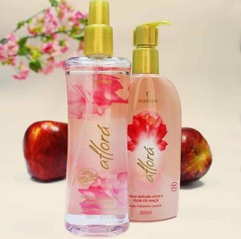Vendo kit eudora aflorá flor de maçã