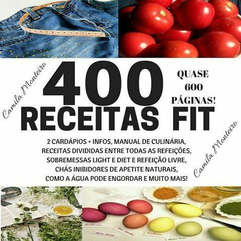 400 receitas saudáveis para emagrecer!