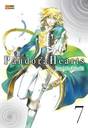 Mangá Pandora Hearts - Volume 7 - Novo Panini