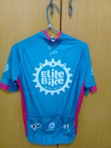 Camisa ciclismo unissex elite bike