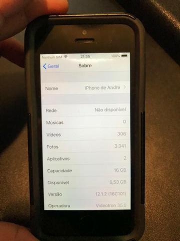 Iphone 5SE 16gb desbloqueado