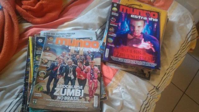 Revistas Mundo Estranho