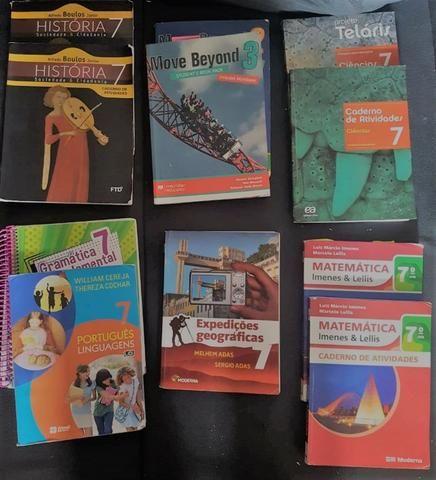 Livros didáticos 7º ano