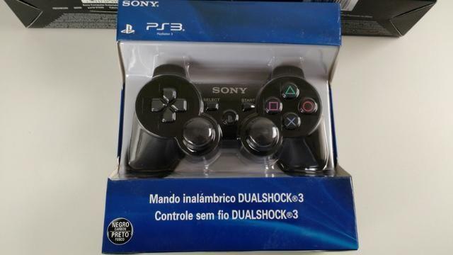 Controle para PlayStation 3 novo sem fio, entrega gratuita em Maringá