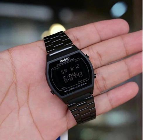 8caacec94 Relógio Casio Vintage - Preto - Bijouterias