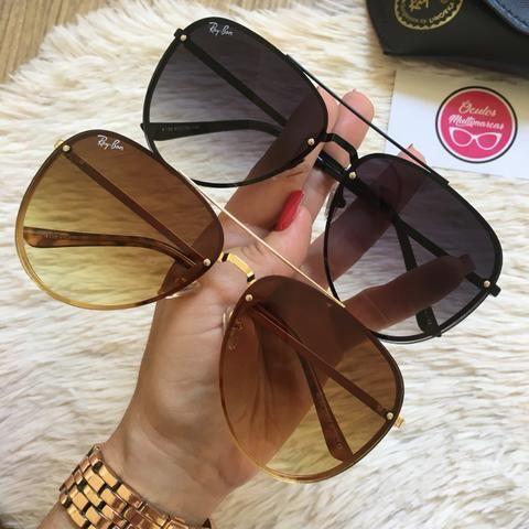 575638094 Óculos Ray ban aviador Blaze - Bijouterias, relógios e acessórios ...