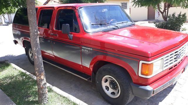 D 20 Veraneio -12 Lugares + bagageiro/Diesel - Motor Pericles 4cc /1991 -Ar Condicionado - Foto 2