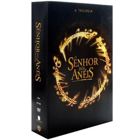 Box dvd trilogia o senhor dos aneis - novo