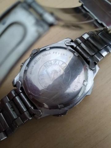 Raridade! Relógio Citzen original C 410 em aço inoxidável - Foto 3