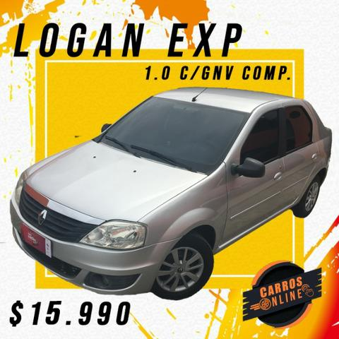 Logan Exp 1.0 2011 C/GNV! Financiamos para autônomos!!