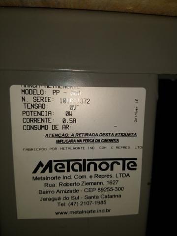 Máquina de prega botão Pneumática Metalnorte - Foto 5