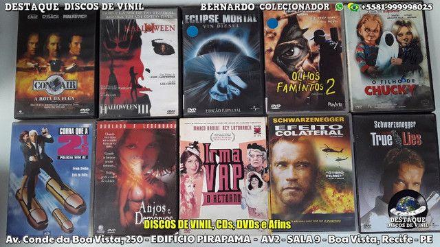 CDs, DVDs e Discos de Vinil Variados, Venha Cinhecer Nosso Acervo - Foto 2