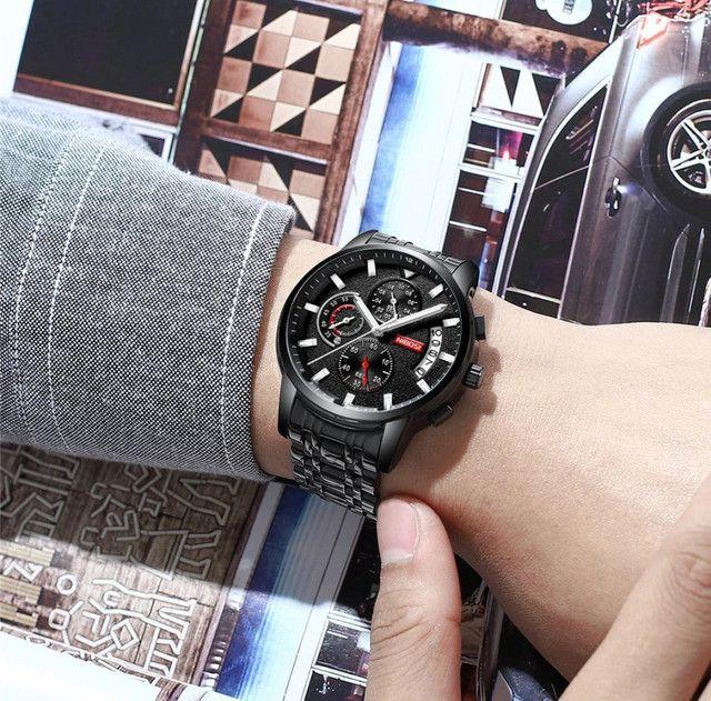 Relógio Original Nibosi Multifuncional - Foto 6