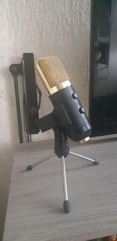 Microfone profissional estúdio Condensador