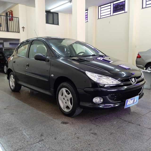 Peugeot Hatch 206 1.4 Mec. Flex 2008/2008 - Foto 5