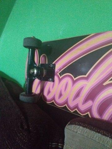 Skate Novo Pouco Usado - Foto 3