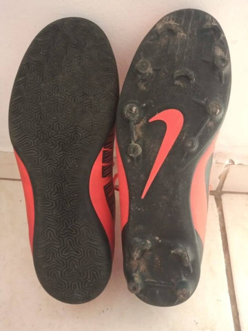 Chuteira campo Nike CR7 ( com trava ) - Foto 4