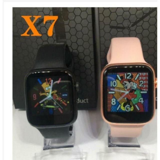 Relógio Smartwatch x7 Versão Atualizada Lançamento - Foto 4