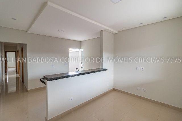 Casa nova com arquitetura moderna e cozinha americana no Rita Vieira 1! - Foto 6